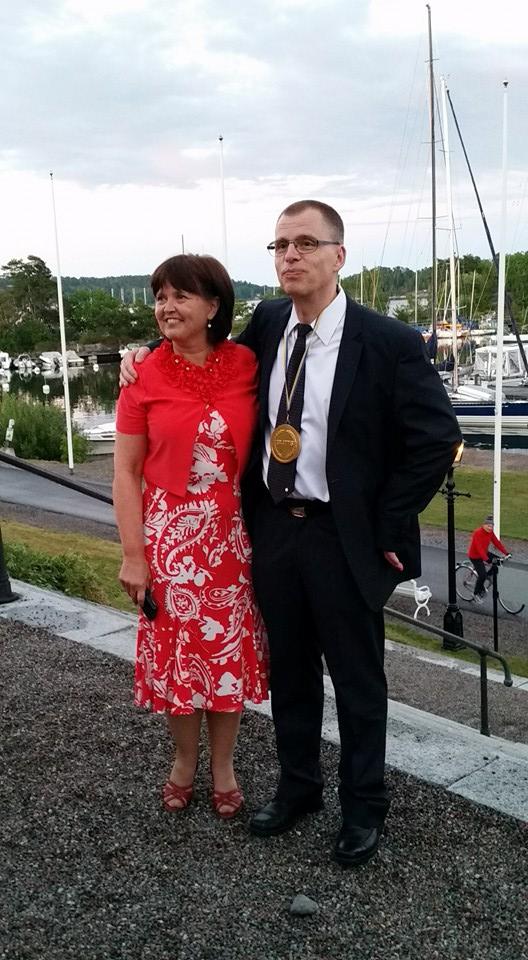 Porträtt Pastor Mikael Toll och Taina Toll